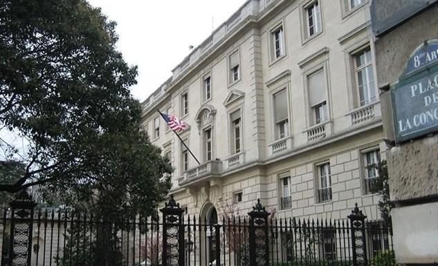 Ambassade des Etats-Unis à Paris