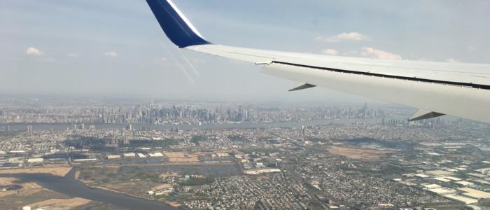 New York vue depuis le ciel